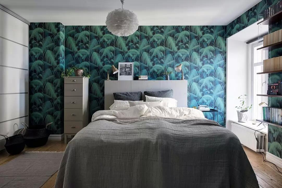Bedroom and wallpaper  www.icr