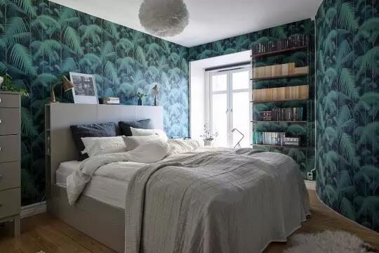 Bedroom and wallpaper www.icra