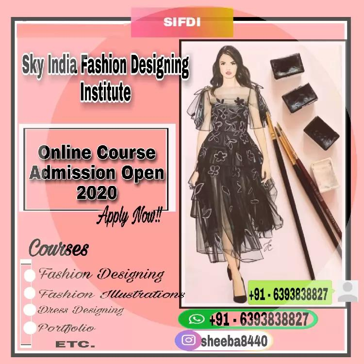 Fashion Designing Course Sky India Fashion Hub