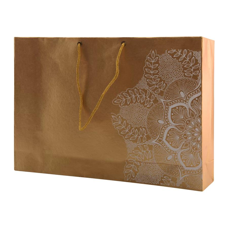 Gold Colour Handmade Paper Bags