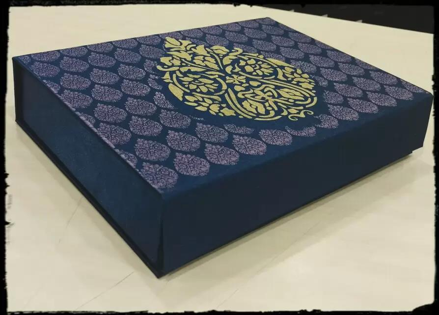 Wedding favor Satin Box for ch