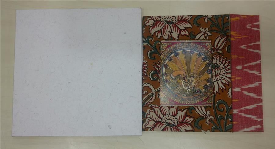 Kalamkari Wedding Cards