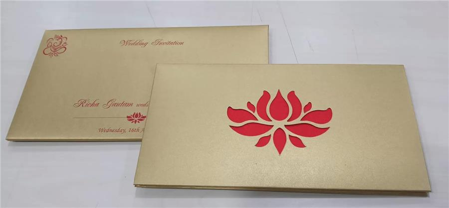 New Wedding Card from Utsav Cards - Hyderab