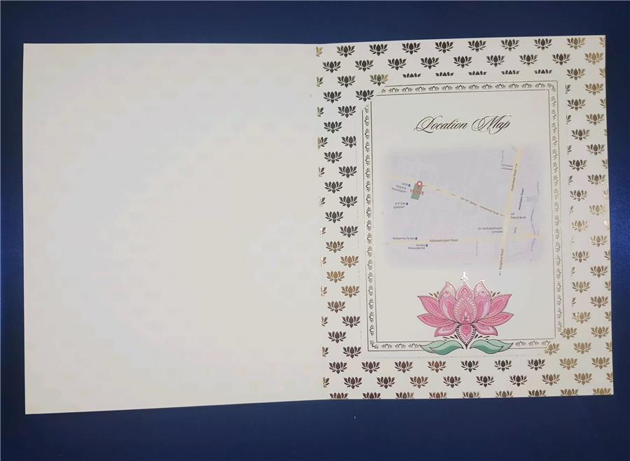 Flower card (2nd insert)