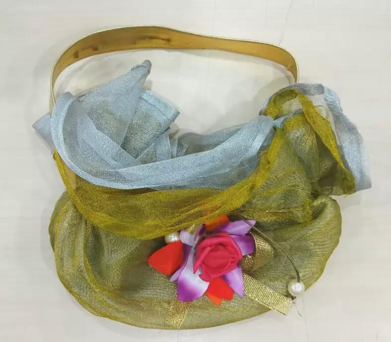 Flower and Pearl potli bag