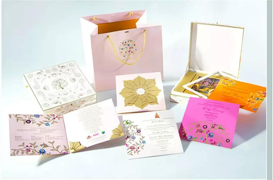 Wedding card complete set
