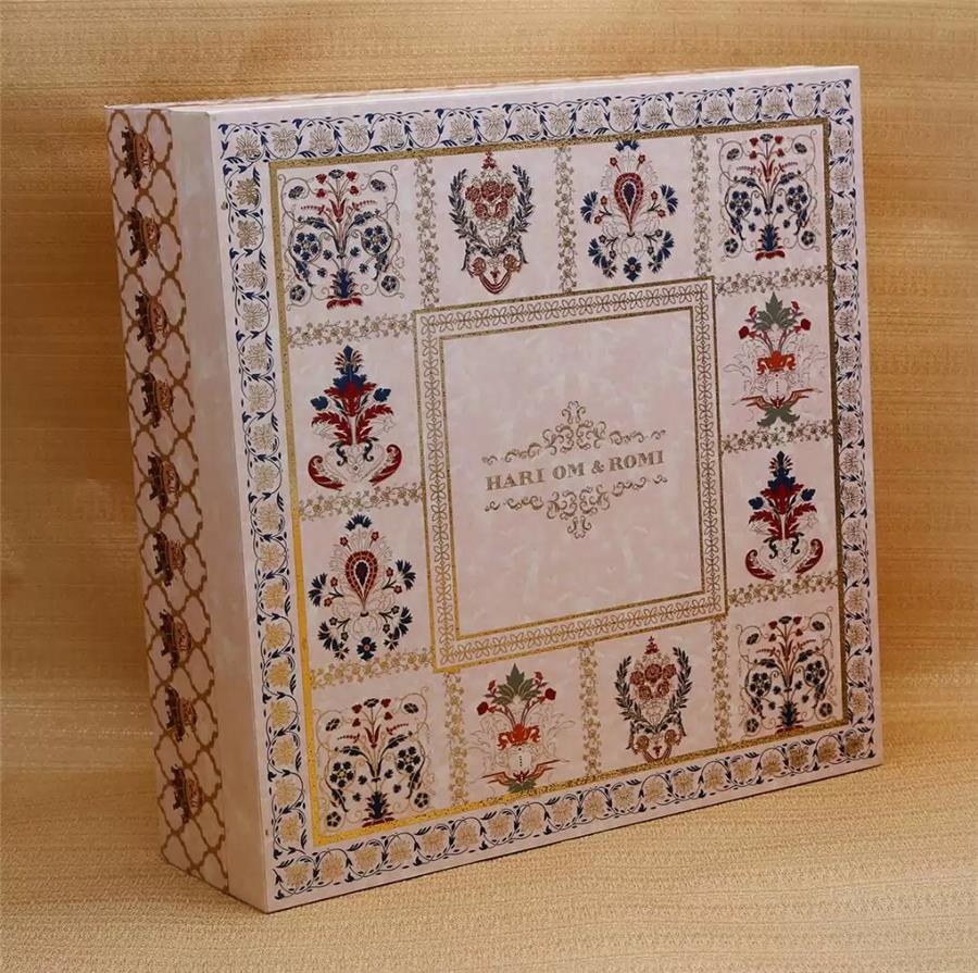 Boxed Wedding Card