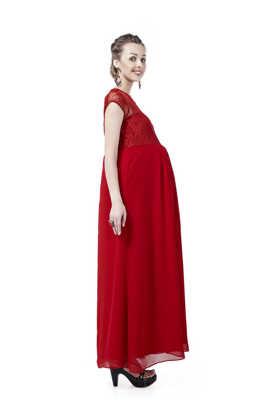 Innovative presents Long Maternity Dress