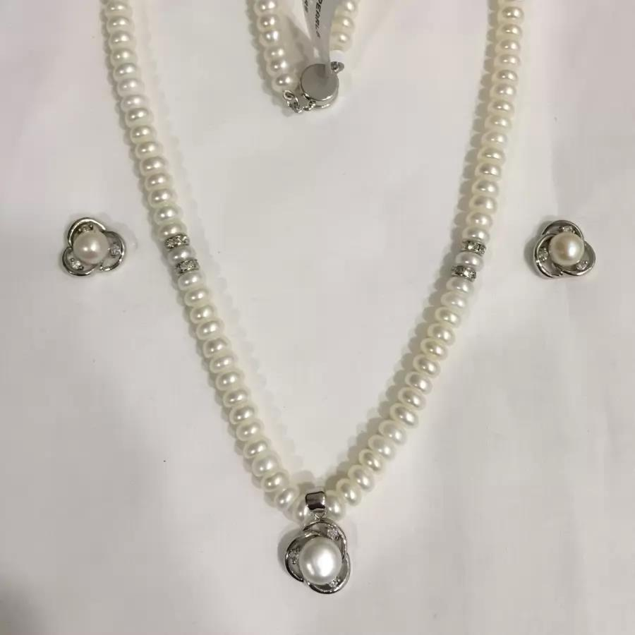 Natural Pearl Set 015