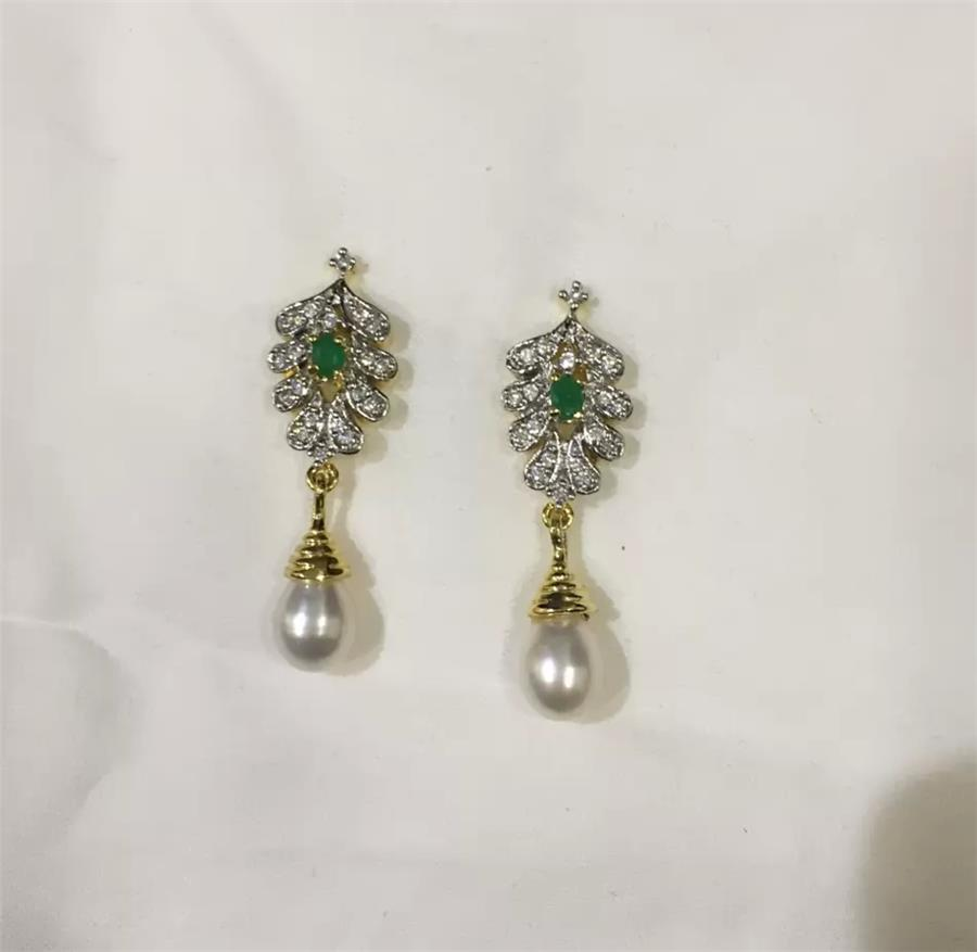 Natural Pearl Hanging Set 008