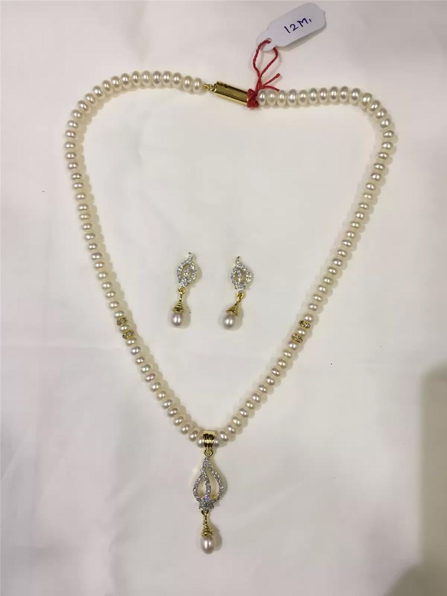 Natural Pearl Hanging Set 007