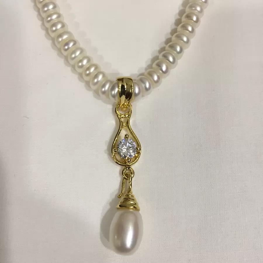 Natural Pearl Set 005