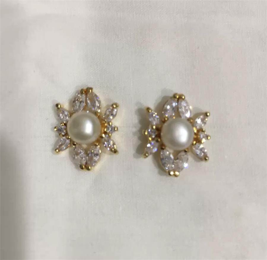 Natural Pearl Set 011