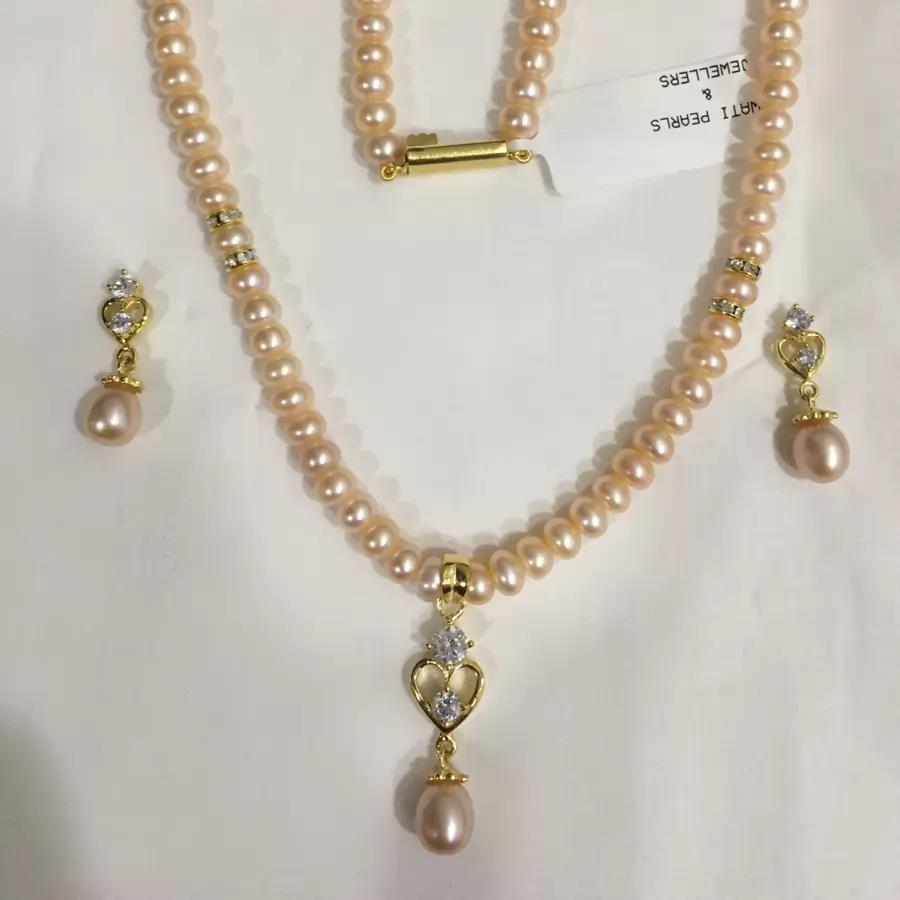 Natural Pearl Set 030