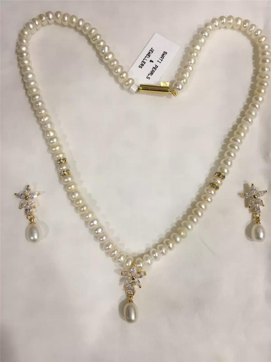 Natural Pearl Set 010