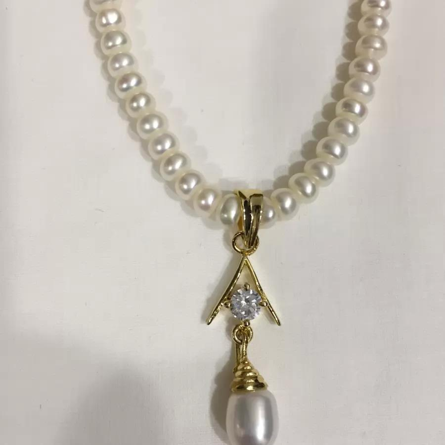 Natural Pearl Set 006