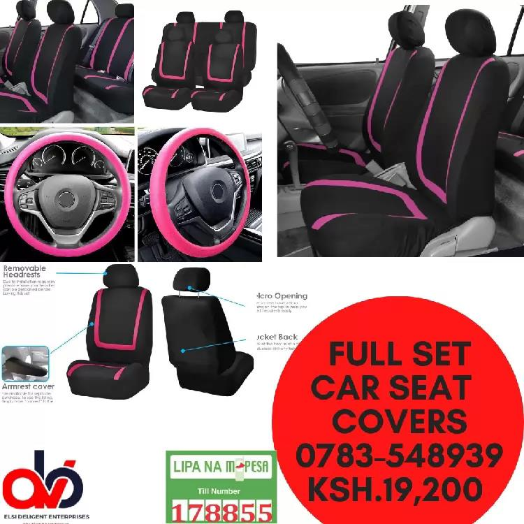Full Set Car Seat Covers