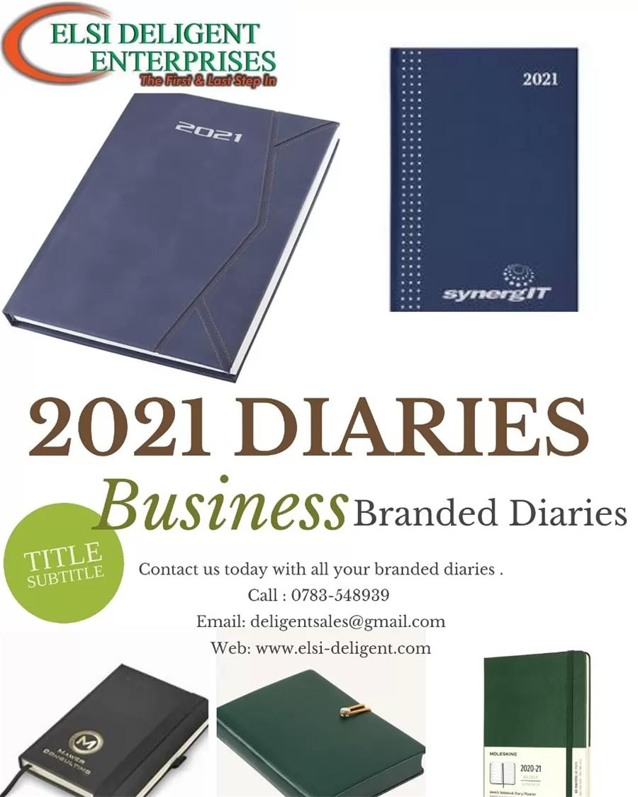 2021 Diaries Branding and Suppl