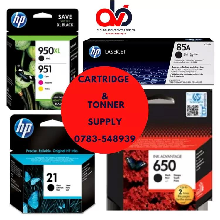 Cartridges and Tonner Supplies