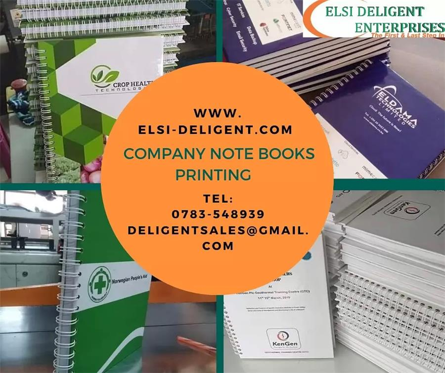 Note Books Printing