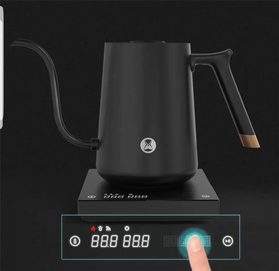 Time more smart kettle black