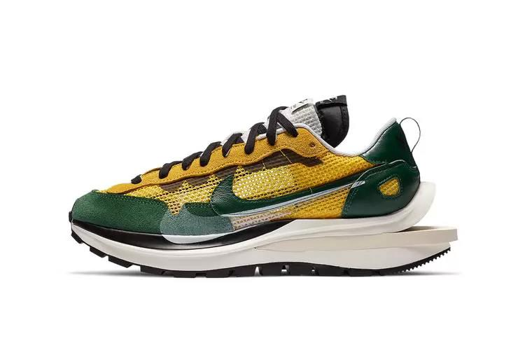 ($77) 2021 The best-selling Sacai x VaporWaffle men's and women's jogging shoes