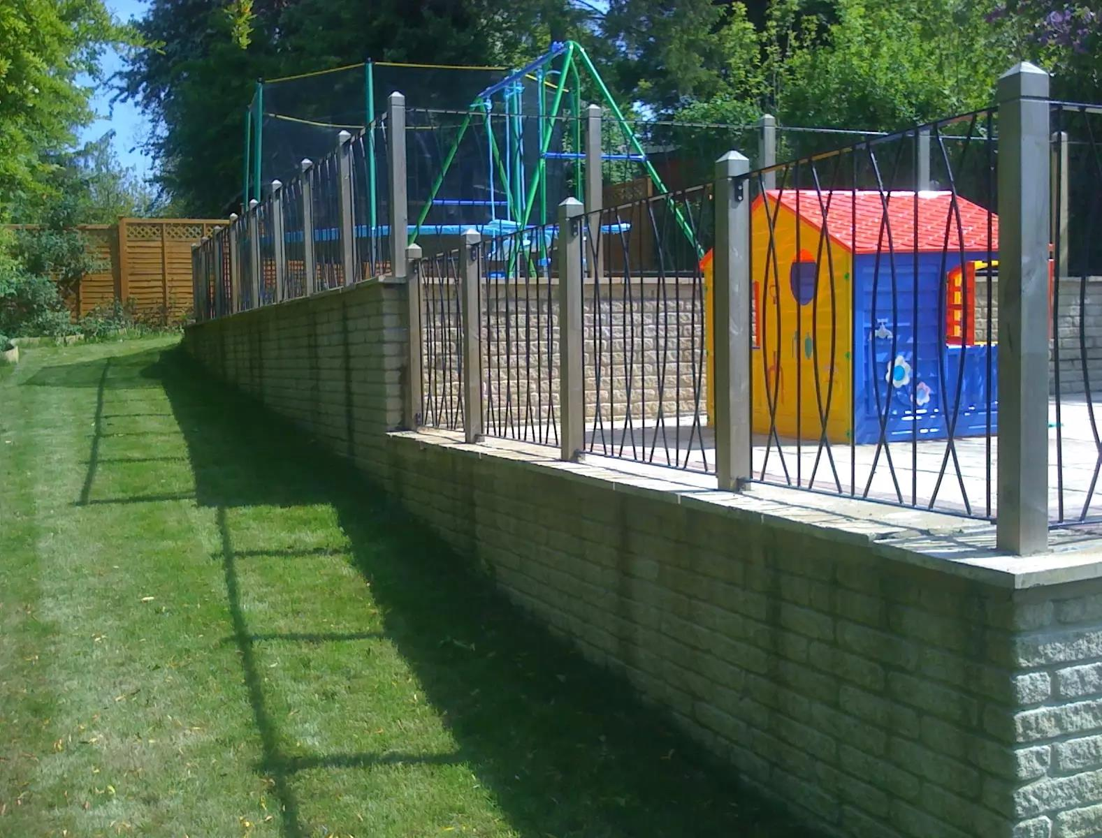 Landscape Gardening with 2x6mx6m Kids play area