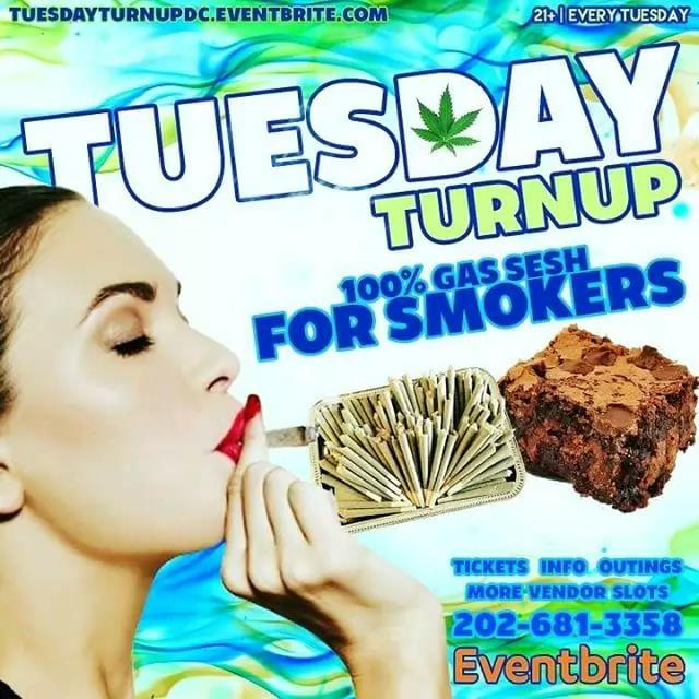 TUESDAY TURNUP VIP Ticket