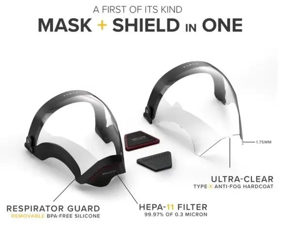 Venta Full Face Mask with interchangeable Filter.