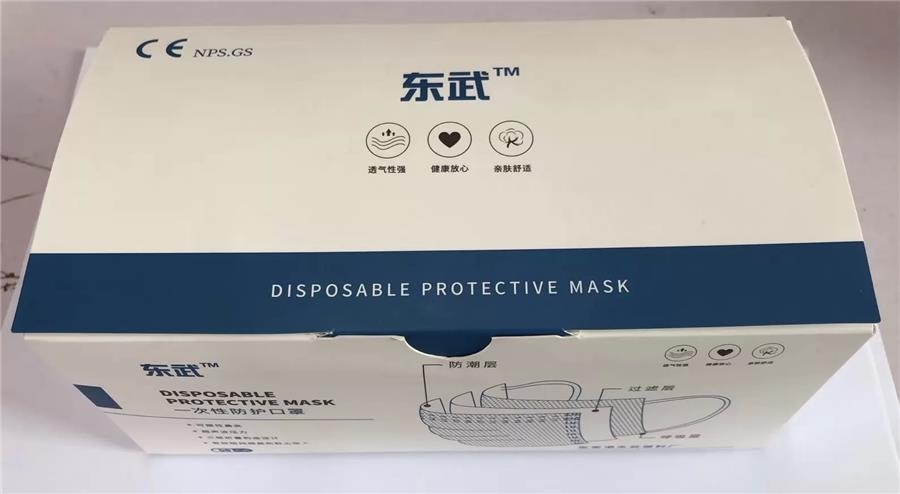 China brand 3 ply disposable Face Mask